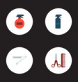 set of shop icons flat style symbols with vector image
