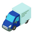 single car icon isometric style vector image vector image