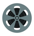 tape reel isolated icon vector image vector image