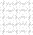 texture of the puzzle vector image vector image