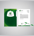 corporate style concept vector image