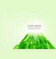 digital technology concept green line technology vector image