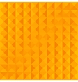 geometric yellow simple pattern vector image vector image