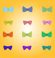 Hipster bow-tie vector image