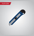 isolated cutter flat icon knife element vector image vector image