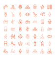 manager icons vector image vector image