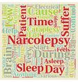 Narcolepsy What Is It And How Can It Be Treated vector image vector image