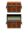 old fairy chest vector image vector image