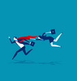 super leader for business team concept business vector image vector image