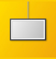 wall picture frame vector image vector image