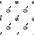 Watermelon icon in black style isolated on white vector image vector image