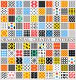 digital color geometric vector image