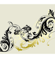 6floral line 14 1 vector image vector image