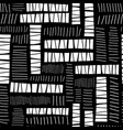 abstract monochrome blocks collage seamless vector image vector image