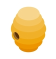 Beehive isometric 3d icon vector image vector image