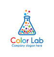 Color Lab vector image