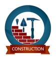 Design for construction vector image vector image