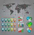Ecologi infographic vector image