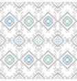 grey blue tribal geometric seamless pattern vector image vector image