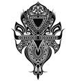 maori style tattoo design vector image vector image