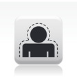 protection icon vector image vector image
