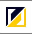 s square logo vector image