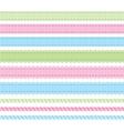 set braids vector image