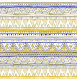 Tribal seamless geometric pattern ethnic motifs in vector image vector image