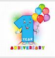 1 anniversary funny digits