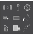 Car Parts icon set 2 vector image vector image