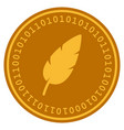Feather digital coin