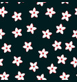 floral paradise tropic seamless pattern vector image vector image