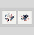 for card print on clothes vector image vector image