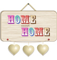 Home sign vector image vector image