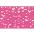 love card for valentines day vector image vector image