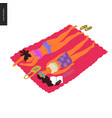 people park festival picnic vector image vector image