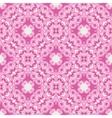 Pink seamless abstract mosaic tiles pattern vector image vector image