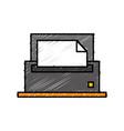 printer icon image vector image vector image