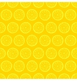 retro seamless pattern with lemons vector image vector image