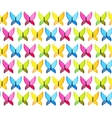Butterfly Seamless Pattern Background vector image vector image