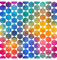 colored mosaic pattern with grunge effect vector image