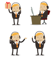 Customer Services Businessman vector image