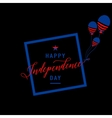 fourth july background felicitation cool fun vector image vector image
