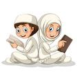 Muslim vector image vector image