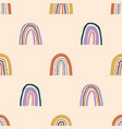 seamless childish pattern with hand drawn vector image vector image