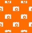 retro camera pattern seamless vector image