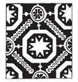 13th century weave design its also a 14th century vector image vector image