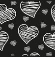a heart love abstract background pattern vector image vector image
