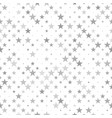 abstractal star pattern background - graphic vector image vector image