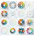 big set elements for infographic vector image vector image